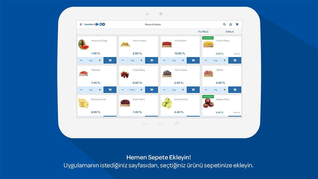CarrefourSA Online Alışveriş